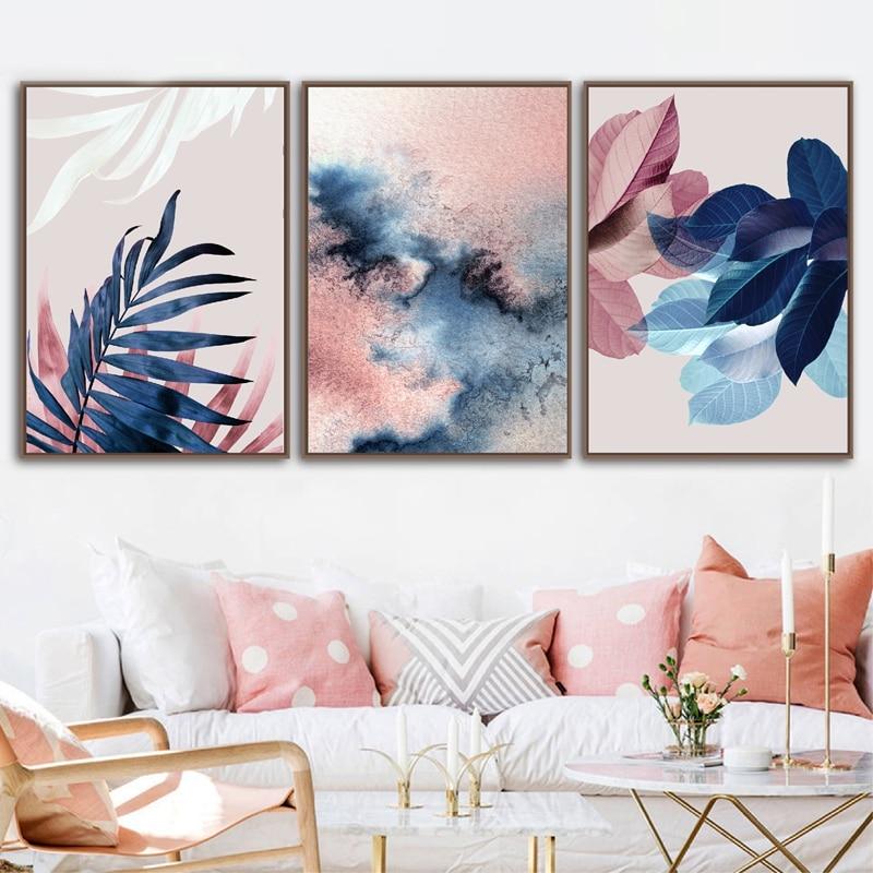 Botanical Canvas Art Prints Home Decoration