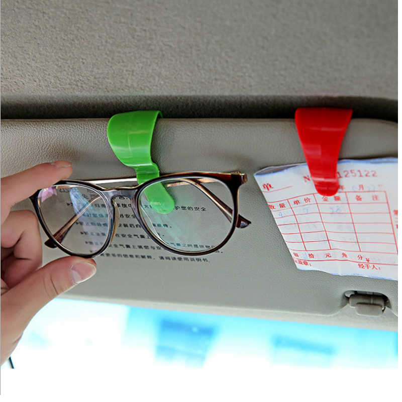 Travel Accessories Creative Portable Unisex Car Glasses Multifunction Organizer Storage Pendant Decoration Security Accessory