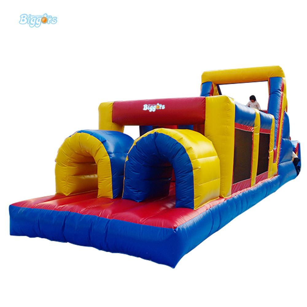 10*3*3.5m High Quality PVC Inflatable Equipment Inflatable Obstacle Course Jumping Castle For Sale jungle cheap small inflatable obstacle course for sale