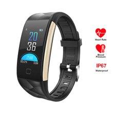 Купить с кэшбэком RAVI 2018 Smart Watch T20 Blood Pressure Heart Rate Monitor Sports Activity Tracker Fitness Smartwatch IP67 Connect IOS Android