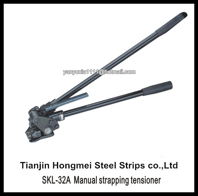 steel strapping tensioner instructions