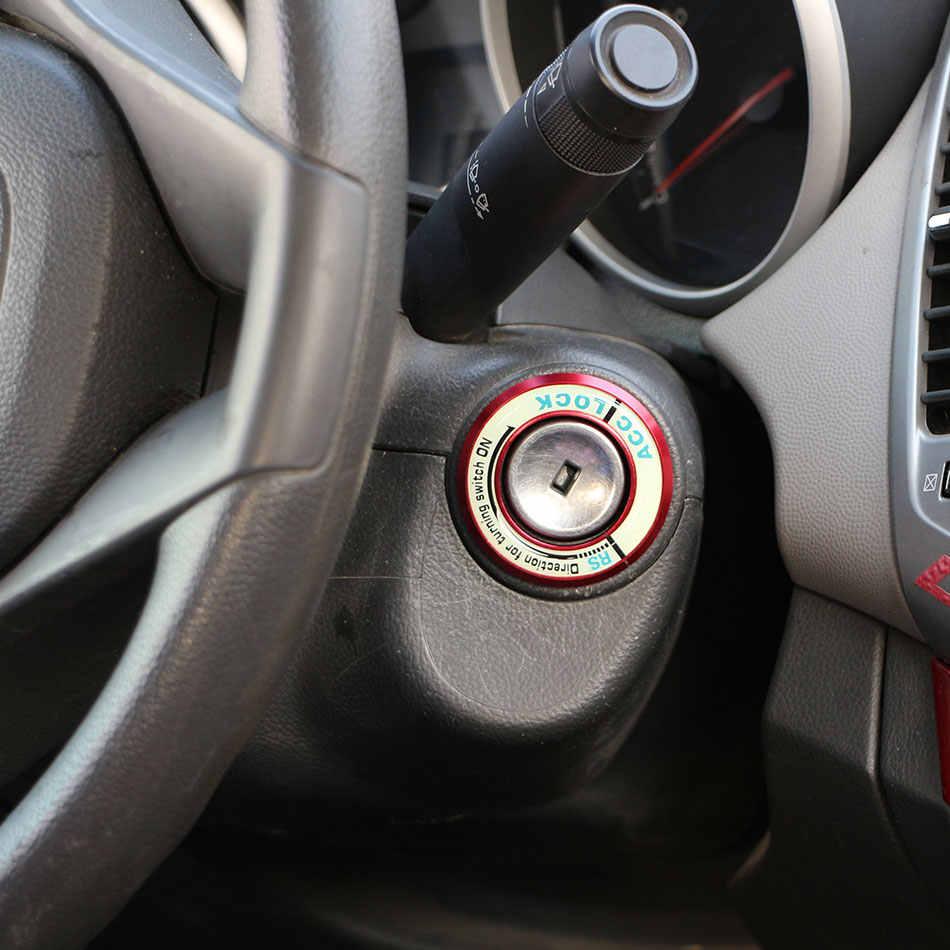 Jameo Auto Car Styling Decorazione Anello Chiave di Accensione Assetto Adesivi per Mazda 2 5 6 8 CX5 CX-CX-9 ATENZA Axela Accessori