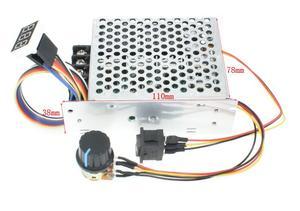 Digital Display 0 ~ 100% einstellbar DC 10-50V 40A DC Motor Speed Controller PWM 12V 24V 48V 2000W MAX 60A Reversible