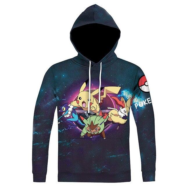 One piece Hoodie 3d Printed Sweatshirt