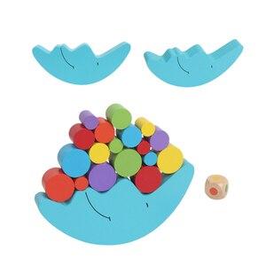 Image 3 - 1 세트 아기 어린이 장난감 문 균형 게임 및 게임 장난감 2 4 세 소녀 & 소년 (파란색)