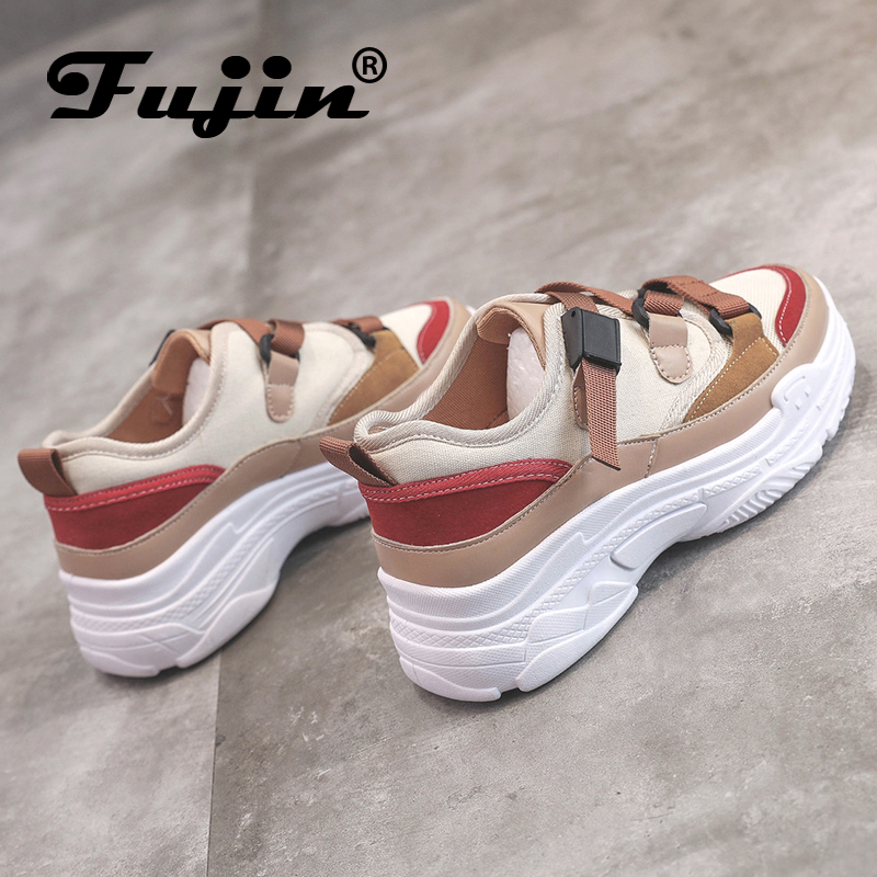 Fujin Spring Autumn Thick Soled Platform Casual Women Shoes DropshippingWoman Sneakers Fashion Ladies Chaussures Femmel