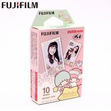 лучшая цена Fujifilm 10 sheets Instax Little Twin Stars Mini Instant Film photo paper for Instax Mini 8 7s 25 50s 90 9 SP-1 SP-2 Camera