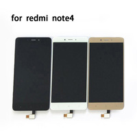 High Quality LCD Display Digitizer Touch Screen Assembly For Xiaomi Redmi Note 4 Hongmi Note4 Cellphone