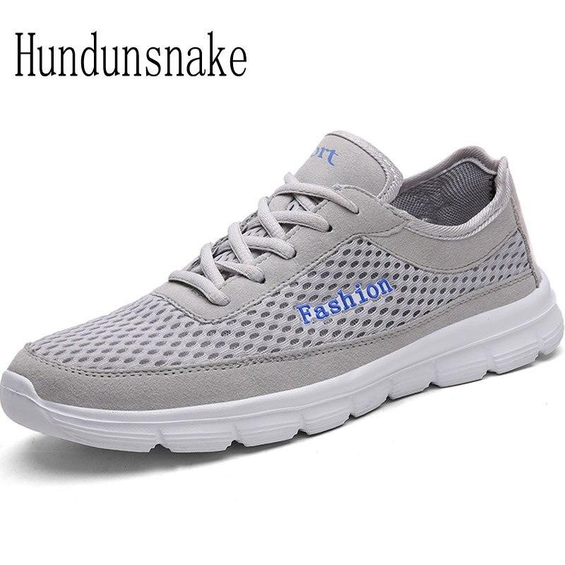 Hundunsnake Running Shoes For Men Women Sneakers 2018 Sport Mesh Breathable Summer Barefoot Gym Male Krasovki Adult Gumshoe T253