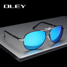 OLEY Brand Mens Sunglasses Designer Pilot Polarized Male Sun Glasses Eyeglasses gafas oculos de sol masculino For Women