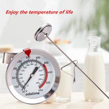 Пищевой термометр Odatime из нержавеющей стали для мяса, барбекю, приготовления выпечки, пищевой зонд, кухонные приборы для быстрой регулировк...