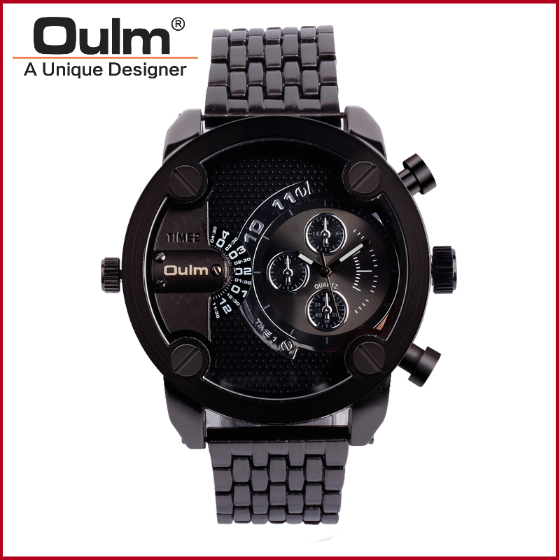 Quartz Watch High Quality Fashion Casual Style Men Watch Brand Oulm Male Wristwatch Unique Design Fast Shipping HT3130 free drop shipping 2017 newest europe hot sales fashion brand gt watch high quality men women gifts silicone sports wristwatch