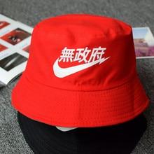 Cllikko 2017 nuevos sombreros de cubo de algodón patrón Unisex mujeres  hombres sombreros de Sol de calle sombrero de pescador de. 86aaea9f8e5