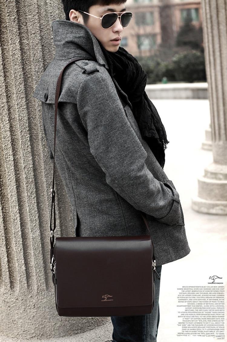 HTB1vTgoSCzqK1RjSZFpq6ykSXXa3 Designer Brand Kangaroo Briefcase Men Soft Leather Shoulder Travel Bag Business office Computer laptop bag Cover Messenger Bags