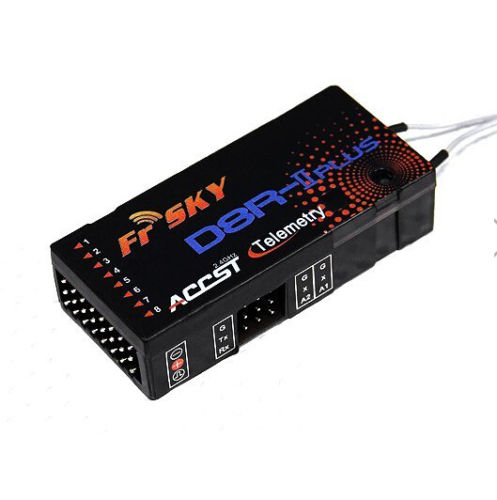 FrSky D8R II Plus 2 4Ghz 8CH ACCST Receiver Telemetery Replacement