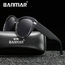 BANMAR BRAND DESIGN Women Men Sunglasses Polarized Vintage Eyewear Driving Gafas de sol Masculino