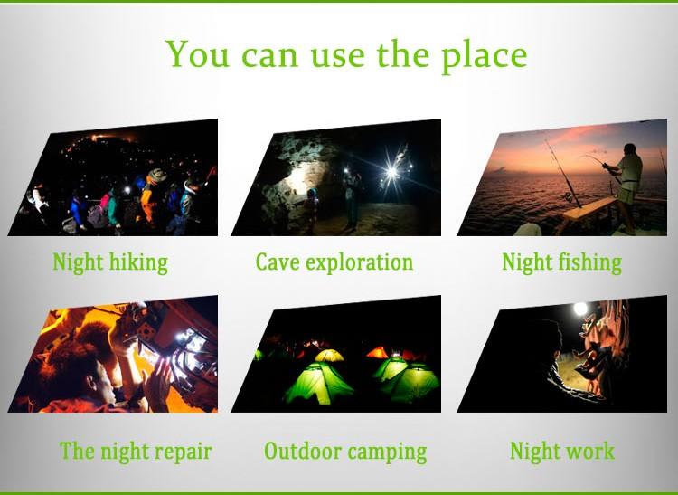 W/55 Laatste camping, draagbare 3