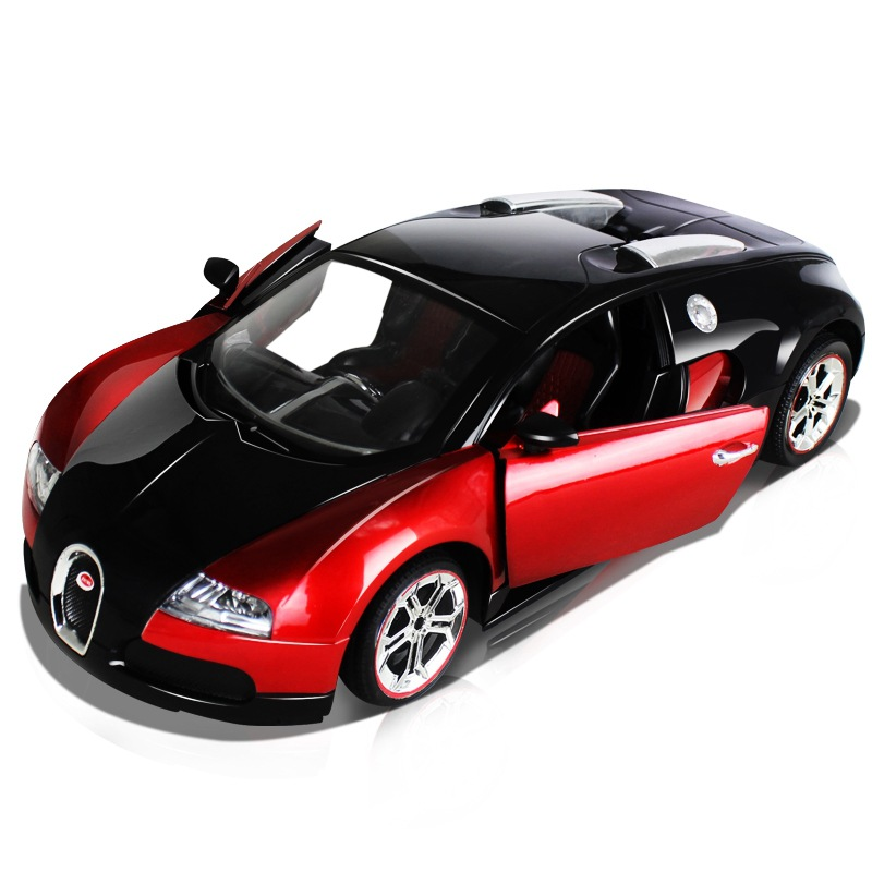 Bugatti 1:14 a key to open the door remote control car simulation high speed drift , toy car, remote control cars,rc car