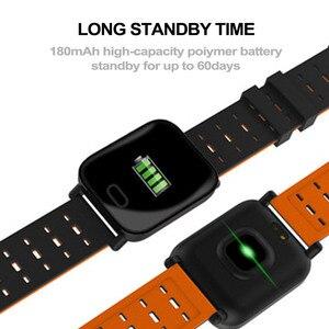 Image 5 - 13 Cal inteligentny zegarek pulsometr Sport inteligentny bransoletka pomiar podczas snu wodoodporny Smartwatch nadgarstek dla IOS Android