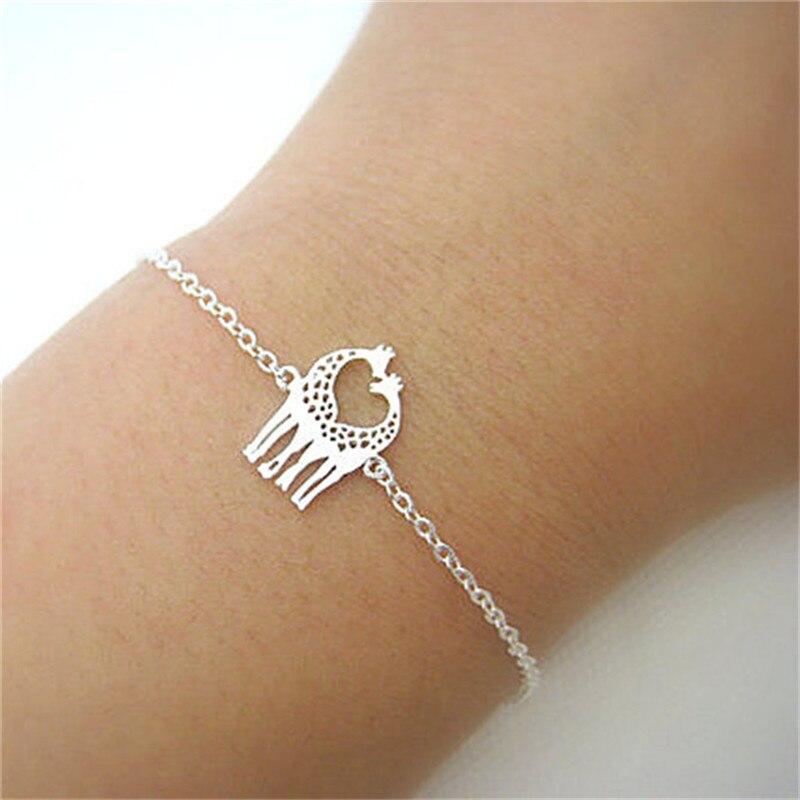 Minimalist Jewelry Giraffe Bracelets For Women Simple Cute Animal Bracelet Gifts In Chain Link From Accessories On Aliexpress
