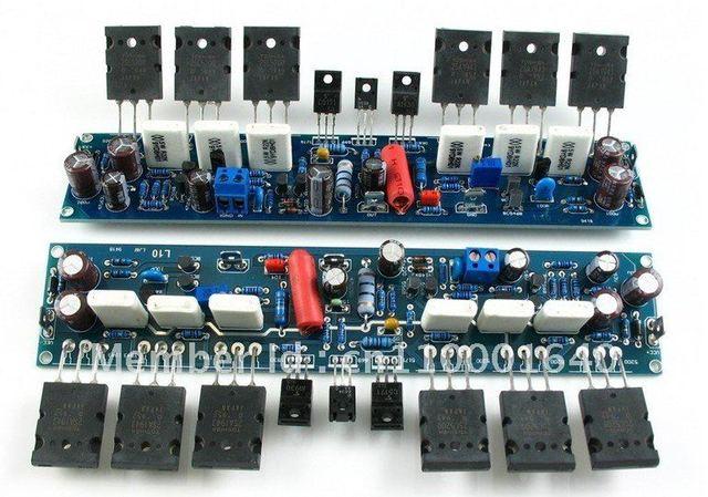 Ljm-привет-конец Собранный Стерео L10 Усилитель Мощности 200 Вт + 200 Вт 4ohm AMP