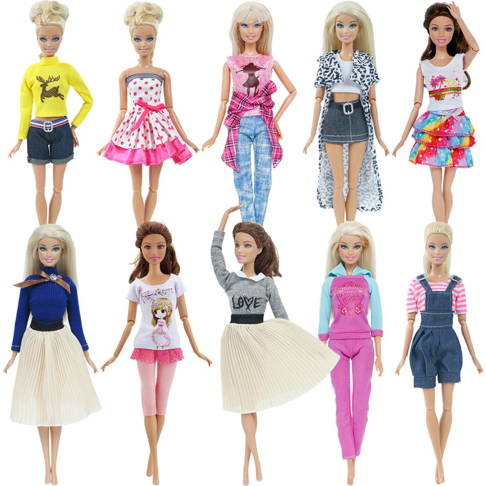 Hot Fashion Handmade Party High Quality Dress Accessories Clothes For Barbie Doll Cloth Christmas Baby Girl Toys Pants Skirt 087
