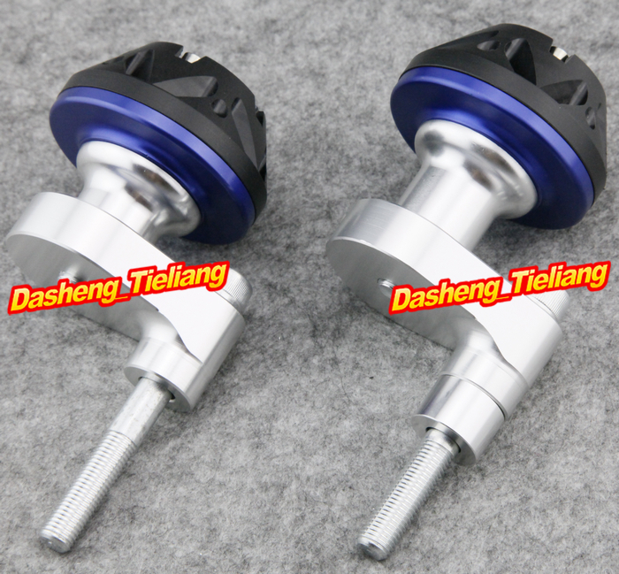 For Yamaha YZF R6 Motorcycle Frame Sliders Protector Crash 2008 2009 2010 2011 2012 BLUE Color, Spare Parts Supplies