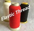 Черная, белая, Красная Эластичная швейная нить