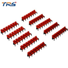 2016 new arrivel scale model cinema chairs 20pcs/lot architecture seats for movie scenery