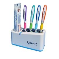 Set família UV escova de dentes esterilizador pode ser esterilizado em intervalos regulares.|Esterilizadores UV domésticos| |  -