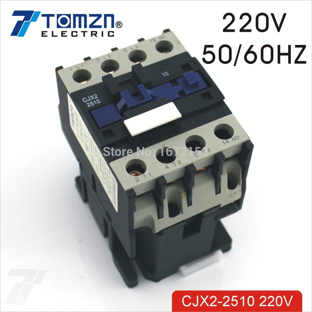 CJX2 2510 AC contactor LC1 25A 220V 50HZ/60HZ-in Contactors from Home  Improvement on Aliexpress.com | Alibaba Group