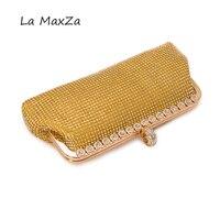 2017New fasion konzipiert für abendtasche gold Diamanten Kette Haspe Jahrestagsfeier umhängetasche luxus handtaschen frauen taschen