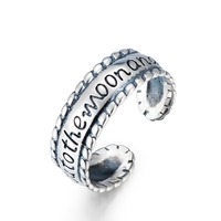 GNJ8900 New Arrival 925 Sterling Silver Ring Classic Jewelry I Love You To The Moon And