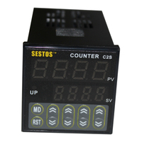 Sestos 4 Digital Preset Scale 100 240V Counter Tact Switch Register SSR Output C2S