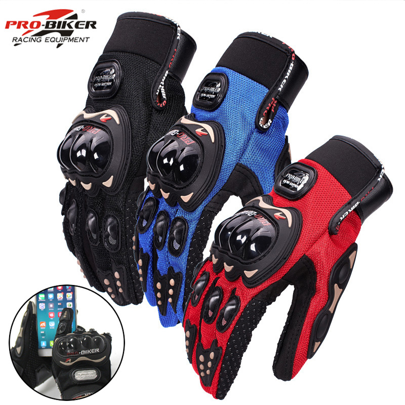 Biker-Gloves Guantes Bicycle Moto Waterproof Full-Finger Man Luvas Women