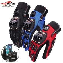 Biker-Gloves Guantes Bicycle Moto Waterproof Women Full-Finger Man Luvas