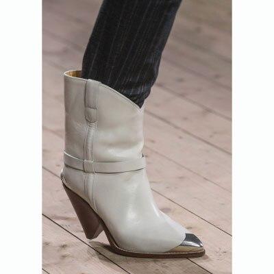 Remache Cuero Mediados as La De Eunice Puntera Correa Becerro Mujeres Las Tachonado As Mujer Diseño Pu Tacones Metálica Vaquero Zapatos Picture Botas Picture Choo tBEBq7wZ