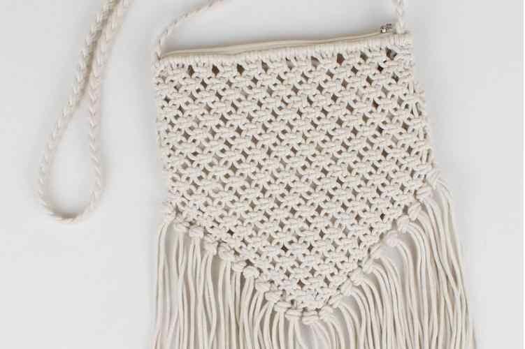 Xmessun merek fashion pantai bohemian rumbai bahu tas wanita utusan bolsa feminina tas melubangi tas crossbody l138