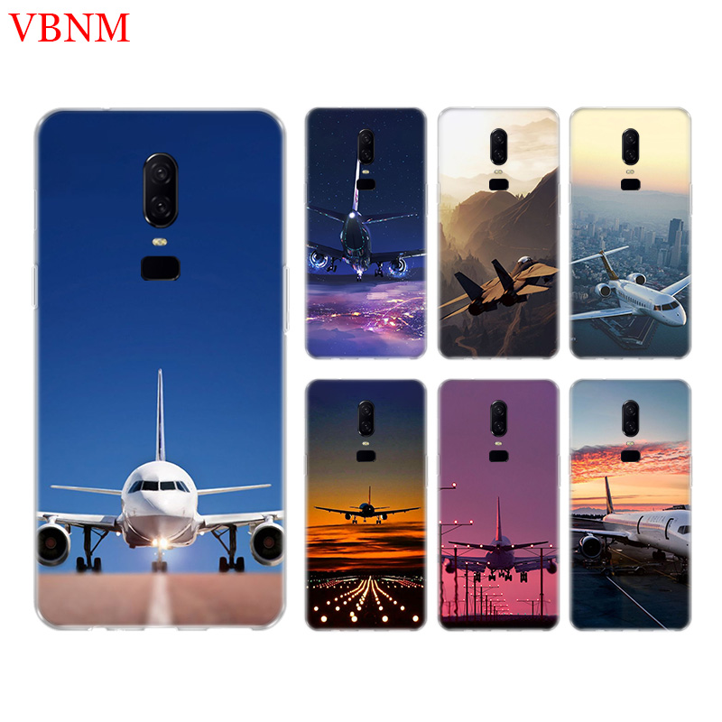 Fighter Propeller Airplane Phone Back Case For font b OnePlus b font font b 7 b