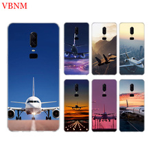 Fighter Propeller Airplane Phone Back Case For OnePlus 7 Pro 6 6T 5 5T 3 3T 7Pro 1+7 Gift Patterned Customized Cases Cover Coque