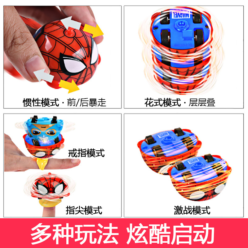 Fingertip Finger Top Gyro Toys Fashion Car Spiner Spiral Desktop Anti Stress Finger Game