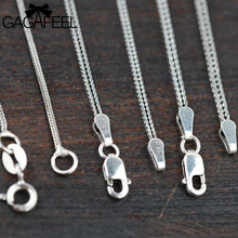 Free Shipping 925 Thai Silver New Fashion Women Men Jewelry Long Chains Necklaces fit Charms Pendants High Quality Gifts WC001