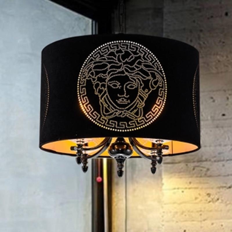 Scandinavian simple creative personality cloth art design living room dining room chandelier scandinavian crime fiction