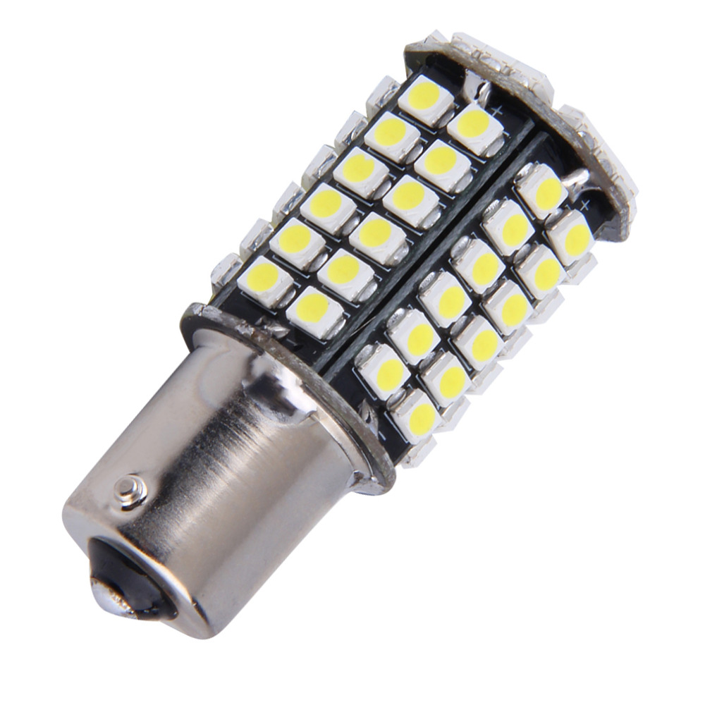 1pc New Super White 1156 BA15S P21W Xenon LED Light 80SMD Auto Car Xenon Lamp Tail Turn Signal Reverse Bulb Light hot selling купить