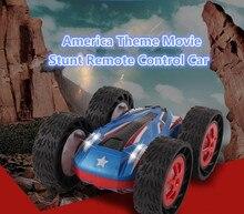 Лидер продаж тема Америки фильм RC автомобилей 2.4 г Двусторонняя Drive Перейти ошибка трюк высокая скорость внедорожники Гонки внедорожник автомобиля детские игрушки