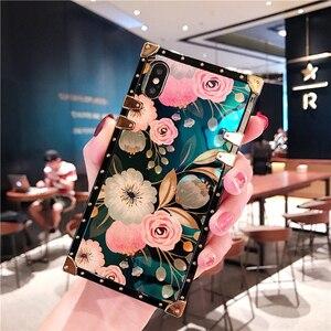 Image 5 - Luxury laser flower crossbody bag soft strap case for huawei P30 pro P20 P20lite nova 3e 2s 3i nova4 mate20 pro cover chain girl