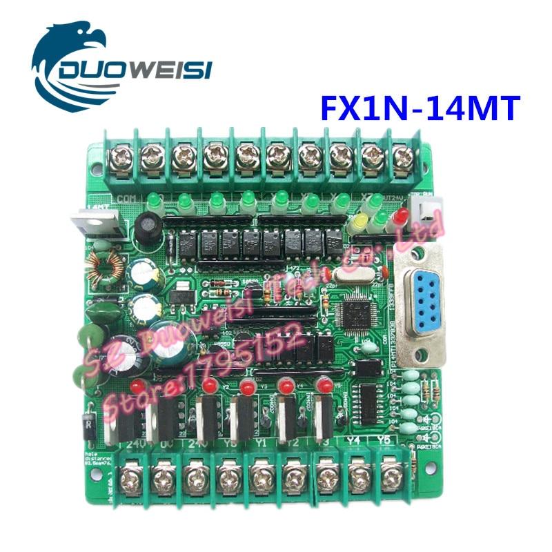 все цены на PLC IPC board microcontroller control board PLC solenoid contactor drive FX1N-14MT  FX1N 14MT онлайн
