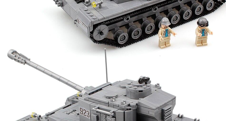 tanque blocos de construção ww2 soldado do