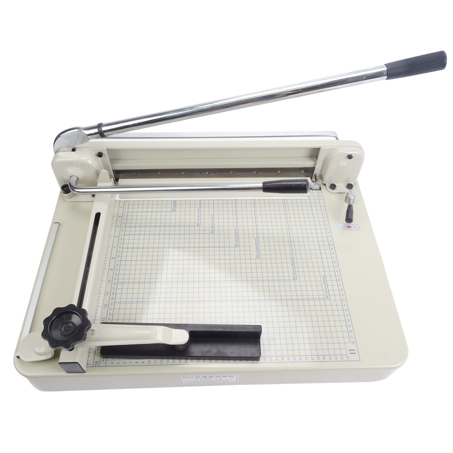 High Quality A4 B5 A3 A5 Paper Cutter 17 YG 868 Heavy Duty Manual Paper Trimmer Cutting Machine a4 size manual flat paper press machine for photo books invoices checks booklets nipping machine