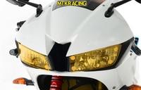 MTKRACING FOR HONDA CBR600RR CBR 600 RR CBR600 RR CBR 600RR 2013 2018 motorcycle Headlight Protector Cover Shield Screen Lens